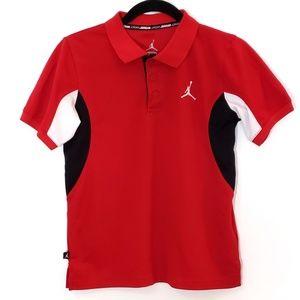 Jordan Boys Dry Fit Polo Shirt